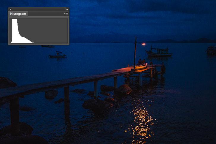 histograma-foto-escura